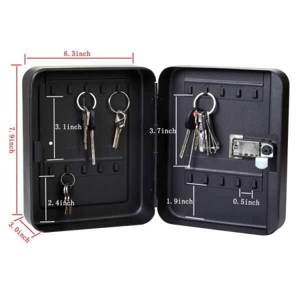 Shop For Sepox Steel Key Cabinet Security Cabinet Box With Combination Lock Holds 20 Keys At