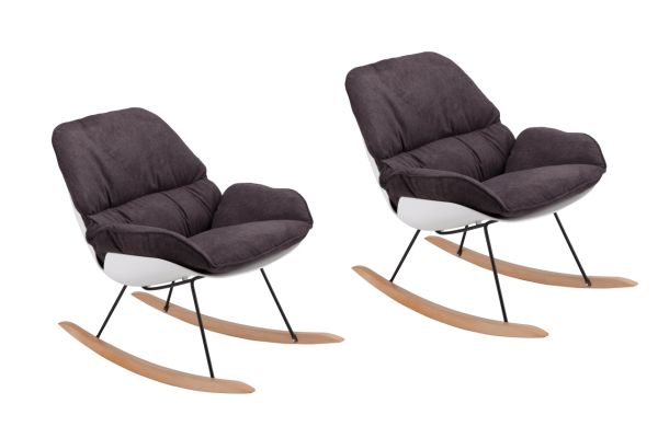 Shop For Modern Rocking Chair Set Of 2 Eames Chair