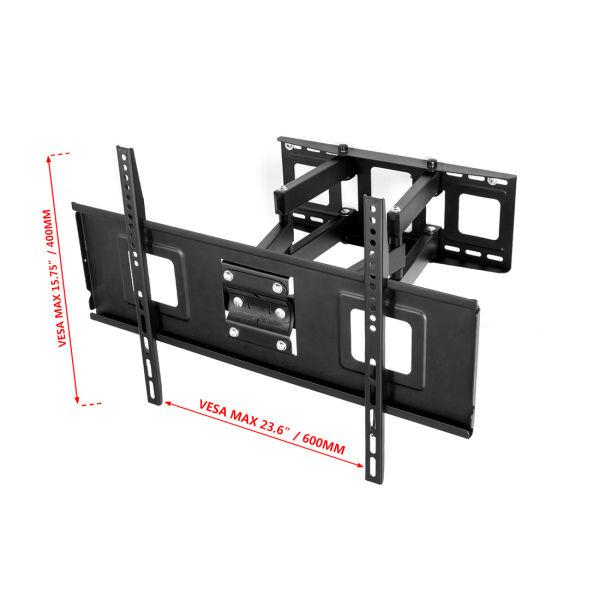 shop for fleximounts cr1 curved panel tv wall mount bracket for 32 65 uhd oled 4k samsung lg. Black Bedroom Furniture Sets. Home Design Ideas