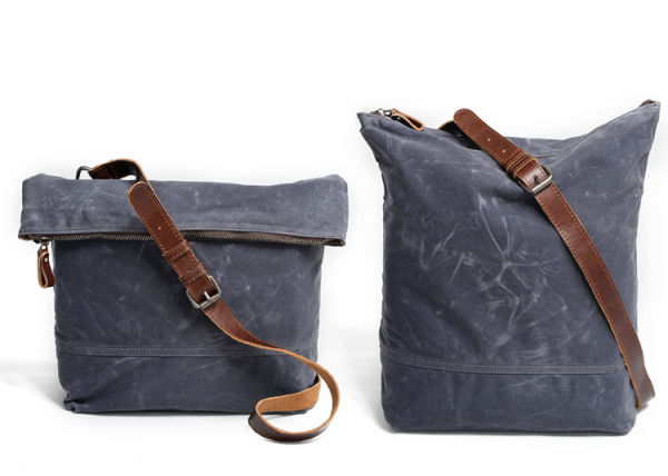 Shop For Redswan Totes Bag Canvas Waxed Canvas Messenger