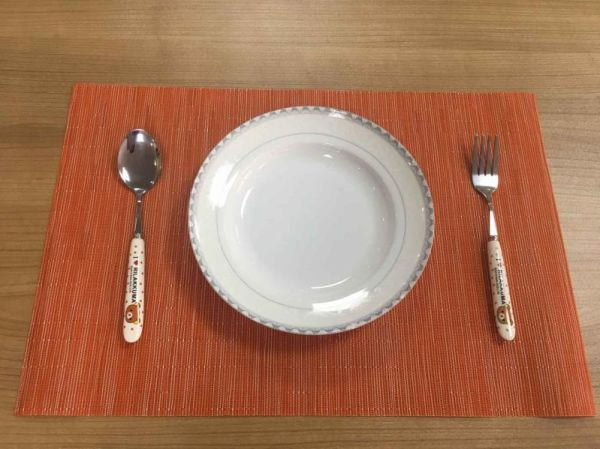 Placemats Heat Resistant Dining Table Place Mats Anti Skid Washable Pvc Kitchen Bzj03 300 Pieces Box