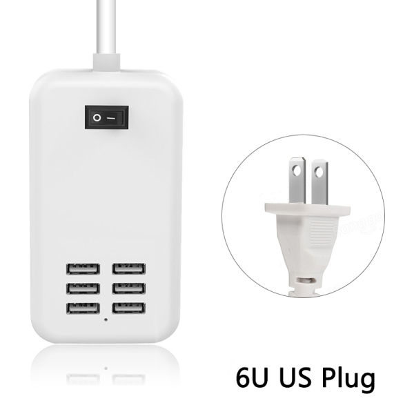ZZYD USB Charger Plug US Plug 5V 4A Power Adapter for iPhone Samsung with  Retail Package 1 Piece / piece