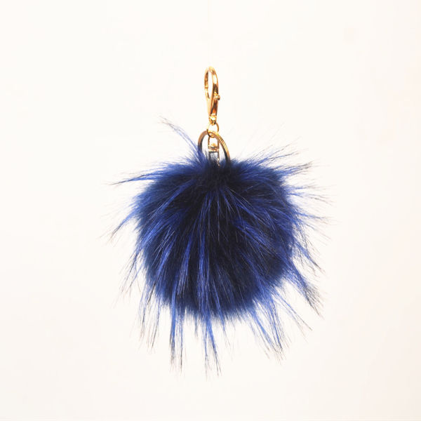 f9b71ed940f9 Shop for Faux Raccoon Fur Ball Key Chain For Decoration at Wholesale ...