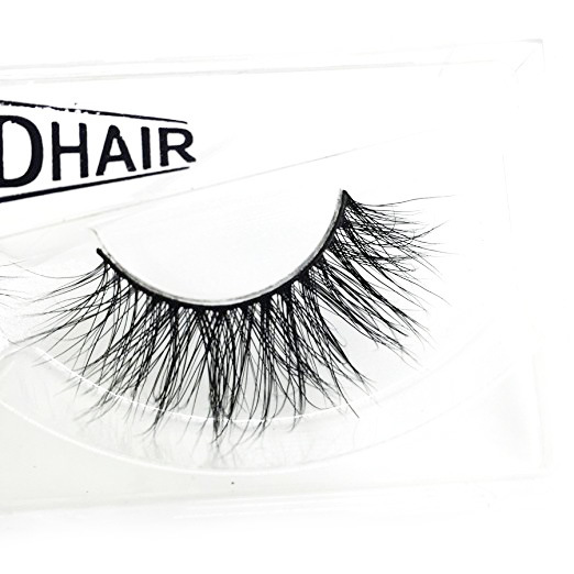Googoo 3D Hand-made Mink Fur Fake Eyelashes of 1 Pair Package