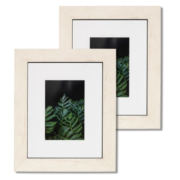 Shop For 8x10 Picture Frame Mat Glass Wood Finish Wall Tablet
