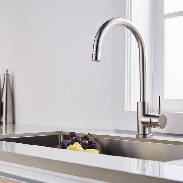 Shop For Trywell T304 360 Degree Solid Stainless Steel Kitchen Sink