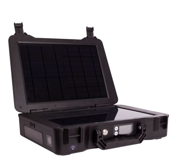The Renogy Phoenix Generator 20W All-in-one Solar Kit