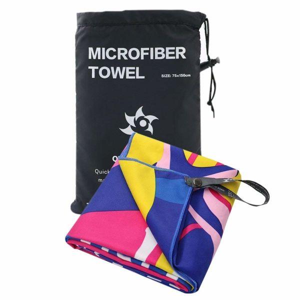 Microfiber Towel Bath Quick Dry Absorbent Lightweight Towels Bath Gym Travel