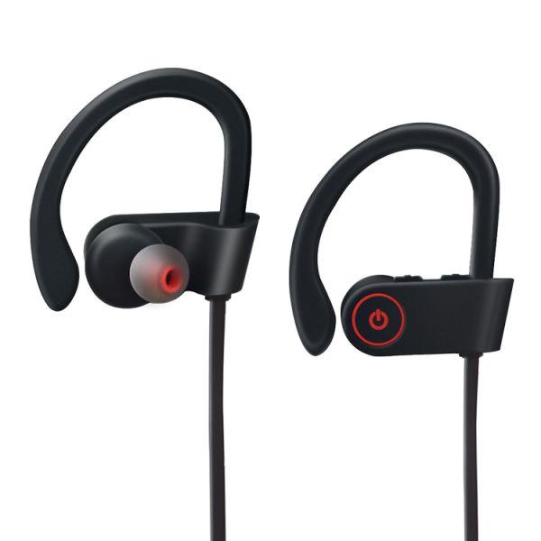 a1f148f90f5 POSUNITECH Bluetooth Headphones Wireless In-Ear Earbuds Sports Sweatproof  Earphones with Mic Noise Cancelling V4