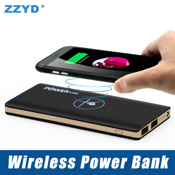 ZZYD 7000 mAh Wireless Power Bank Portable Wireless Charger with Dual USB  External Battery Pack for iPhone 8 X Samsung S8 Note 8 1 Piece / piece