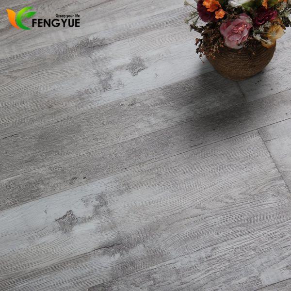 2018 New Deep Wooden Vinyl Plank Flooring Plastic Luxury Tile