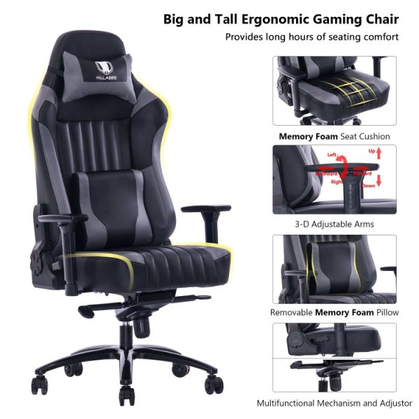 Shop For Killabee Big And Tall 400lb Memory Foam Gaming