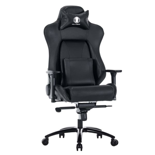 shop for killabee big and tall 400lb memory foam gaming chair adjustable back angle lumbar. Black Bedroom Furniture Sets. Home Design Ideas