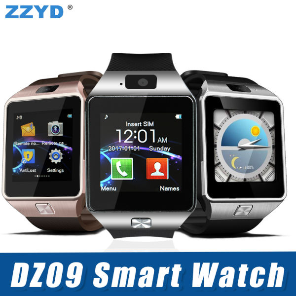 ZZYD DZ09 Bluetooth Smart Watch Wirstband Android Intelligent Watch SIM  card for Iphone Samsung S8 Note 8 Mobile Phone with retail package 1 Piece  /