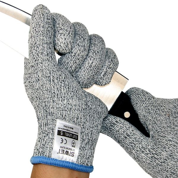 Seeway Cut Resistant Gloves Food Grade Level 5 Protection, Safety Kitchen  Cuts Gloves for Oyster Shucking, Fish Fillet Processing, Mandolin Slicing  ...