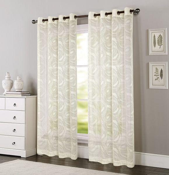 Shop For Comforhome Amazing Circle Window Curtain