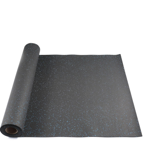 SBR and EPDM Rubber Sheet Rubber Sheet With Blue Granule Sheet for Gym,  Club, Home Gym and Other Sports Area 3 2'×16'×1/10