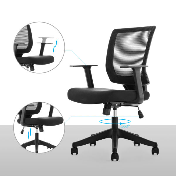Qwork Ergonomic Mesh Task Chair