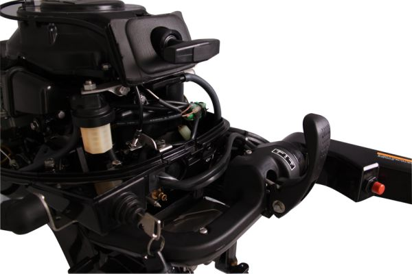 PARSUN 20HP Portable 4 Stroke Outboard Motor, Electric & Pull Start, 15