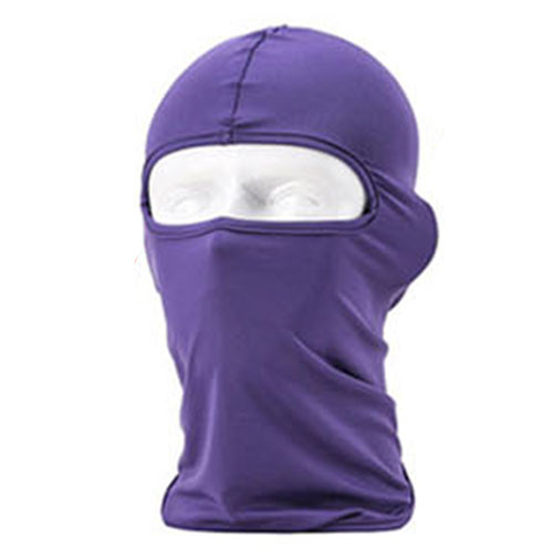 Outdoor Sports Protection Full Face Lycra Balaclava Headwear Ski Neck Cycling Motorcycle Mask Winter Warm Hat Caps