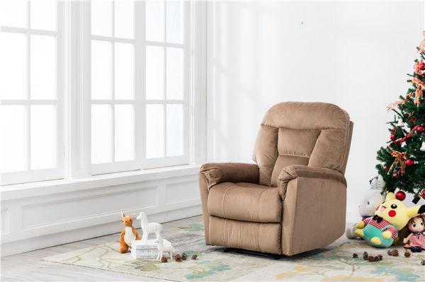 Bonzy Manual Recliner Chair Modern Living Room Furniture Durable Fram