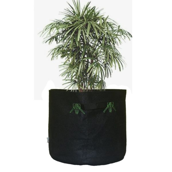 10 Gallon Grow Bag (1 Pack of 5PCS), 100% Polyester PET Plant Pot Fabric Planter
