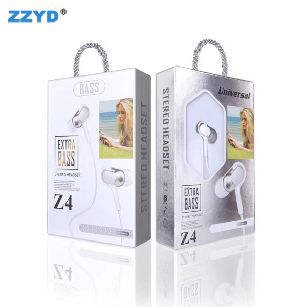 ZZYD PVC Wired Headphones 3 5mm Sport Earphone Bass Music Stereo With Mic  Earbuds MP3 Running Headset for Samsung S8 Note 8 1 Piece / piece