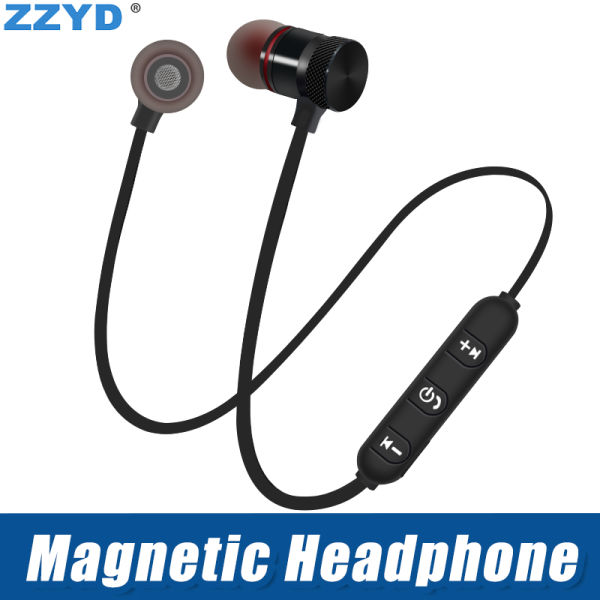 b5c81e0a20a ZZYD DS-6 Wireless Headphones Sport Bluetooth V4.1 Earphones Magnetic shell  Headset for