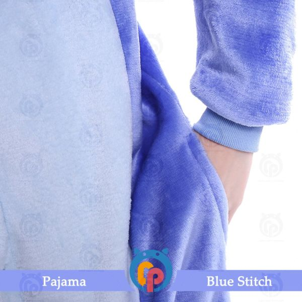 Family Christmas Pajamas Blue.Wholesale Cheap Blue Stitch Kigurumi Family Christmas Pajamas For Party 1 Piece Package