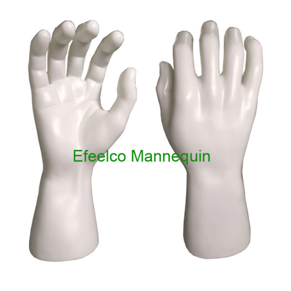 Skin Black / White Male Hands for Glove
