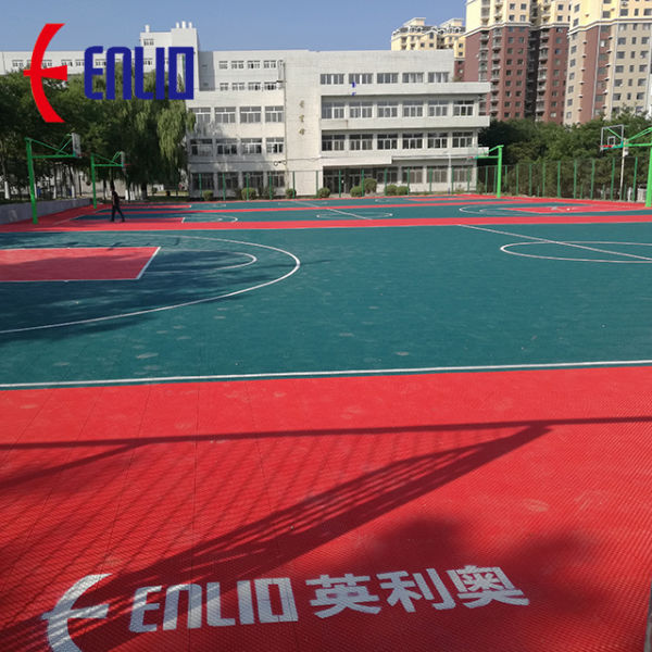 For Outdoor Sports Court Tiles At