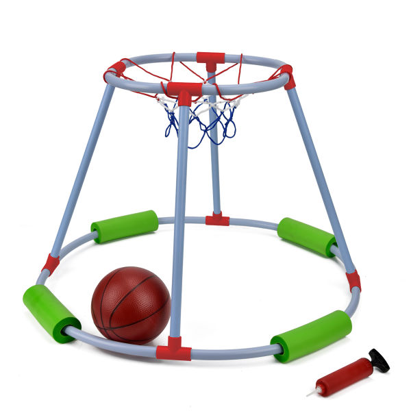 Shop for MECY Floaty Pool Basketball Hoop, Pool Basketball Goal ...