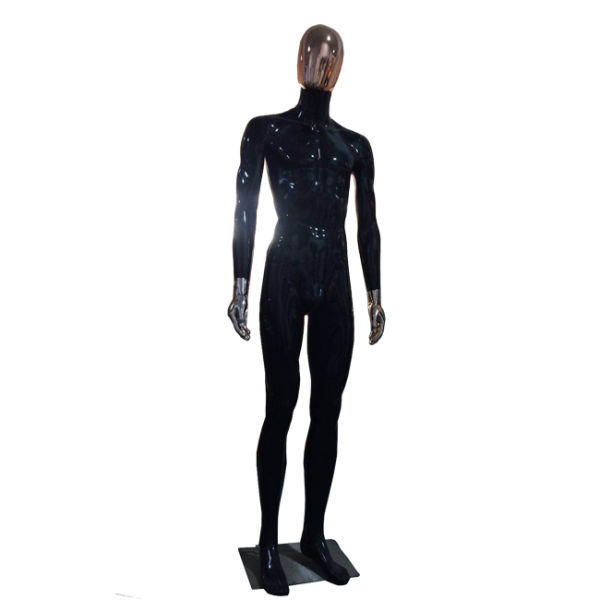 Mix Color Style PP Plastic Male Mannequin Wingdow Display Full Body Standing Posture