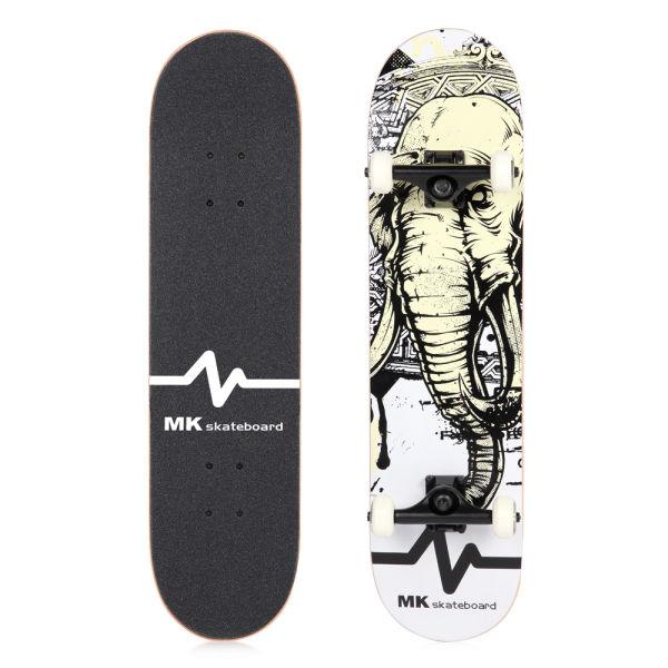 MK Skateboard Elephant Maple Wood 31x8