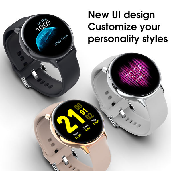 2020 NEW Sports IP68 Waterproof Wireless Charging Smart Watch Heart Rate Blood Pressure Oxygen Health Monitor for Running Walking Riding