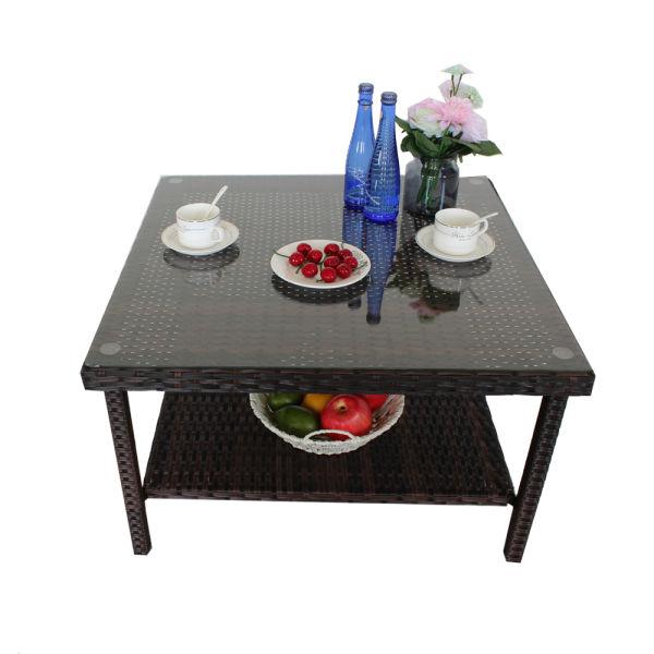Shop For Patio Table Outdoor Indoor Square Patio Rattan