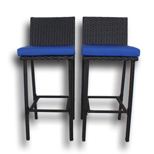 Shop For Patio Stools Rattan Furniture Dining Set Rattan