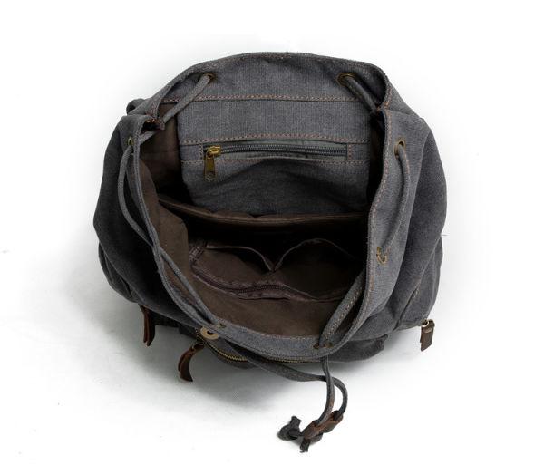 2fff8c53e Shop for REDSWAN Canvas Vintage Backpack Leather Casual Bookbag Men ...
