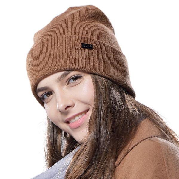 8cc209044c7 FURTALK Cotton Wool Beanie Hat Watch Cap Women Men Beanie Knit Hat HTWL030