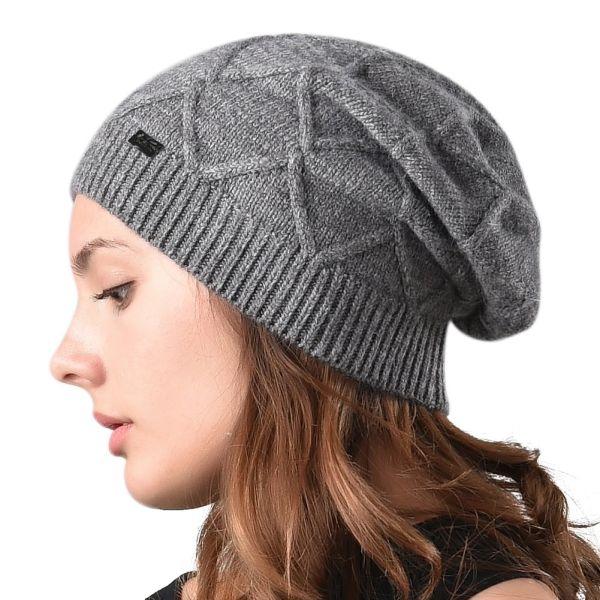 95ae3f15a11 Shop for FURTALK Women Winter Wool Blend Beanies Hats for Women ...