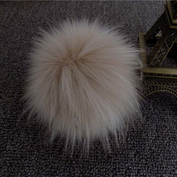 Faux Raccoon Fur Ball Key Chain for Decoration