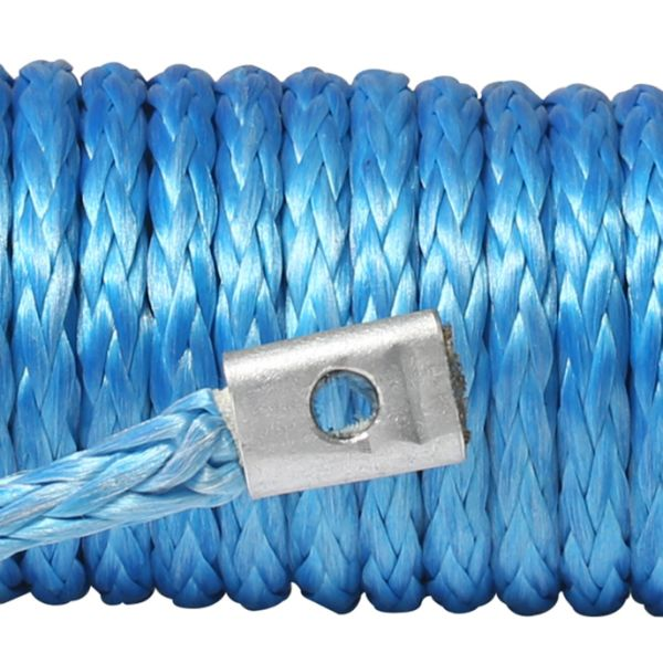 Ymiss UHMWPE 7//32 Soft Shackle for Winch and Outdoor Activity-Blue Color