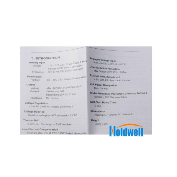 Holdwell AVR Automatic Voltage Regulator EA16A AVR For Kutai Generator 1  Piece / Carton