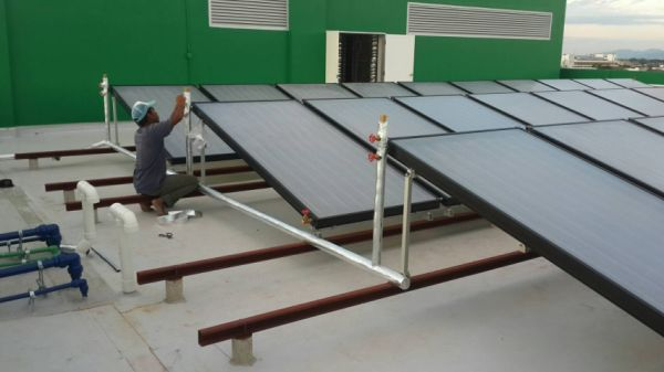 Price Negotiable! Flat Plate Solar Collector for Commercial and Residenal Hot Water