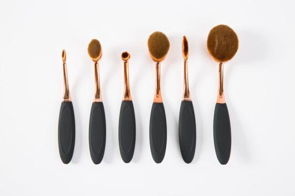 Best Seller 6pcs Oval Makeup Brush Set