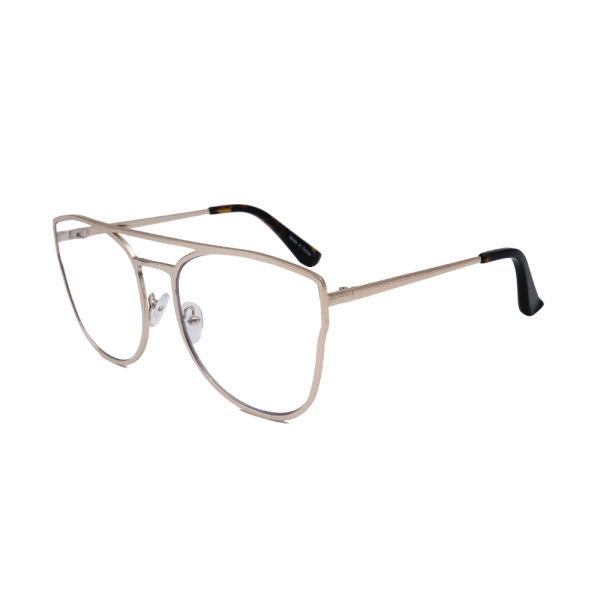 a5c50ac9f1c Shop for Classic Aviator Cat--Eye Glasses Oversized Metal Frame ...