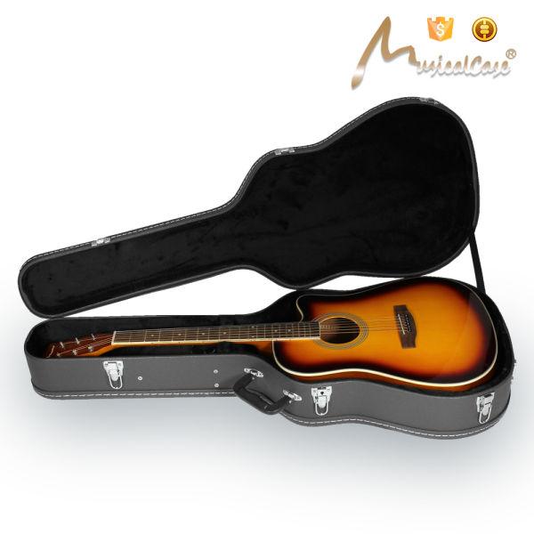 2e19b7d101 Shop for Advanced Black Color Guitar Hard Shell Case at Wholesale ...