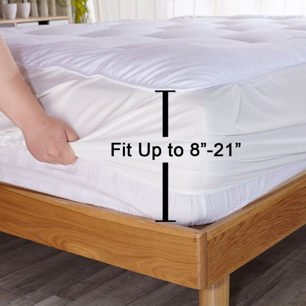 Shop For Mattress Pad Cover Cal King Size Down Alternative