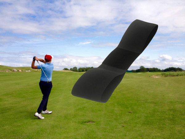 Arm Band Posture Motion Correction Golf Swing Training Aid Practicing Guide Belt for Golf Beginner