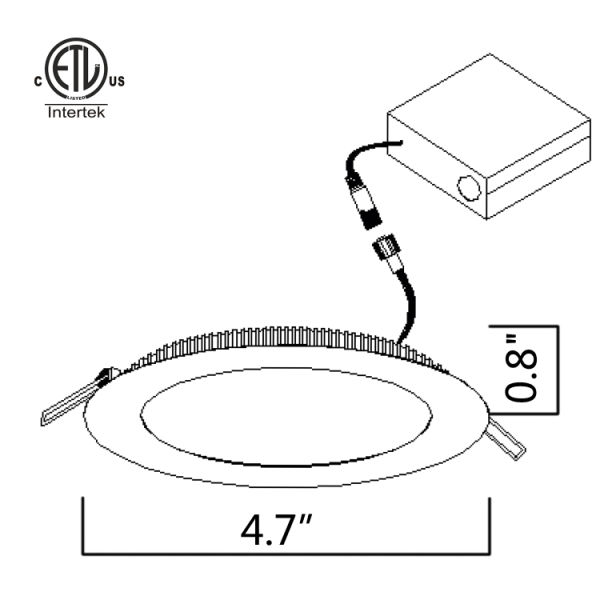 Dimming Led Light Diagram